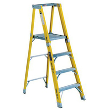 LOU FP1108HD Louisville 8' Fiberglass Ladder Platform  from Carter-Waters