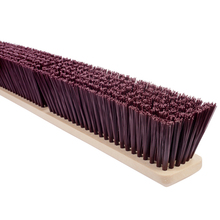 "MAG 2236 Magnolia 36"" Course Brown Garage Brush from Carter-Waters"