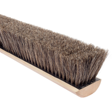 "MAG 2936 Magnolia 36"" Soft Grey Horsehair Concrete Finish Brushes from Cart"