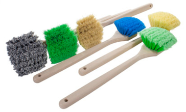 "Magnolia 20"" Utility Scrub Brush from Carter-Waters"