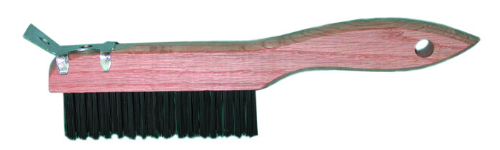 Magnolia Shoe Handle Wire Scratch Brushes from Carter-Waters