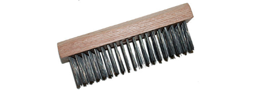 Magnolia Black Steel Wire Scratch Brush  from Carter-Waters