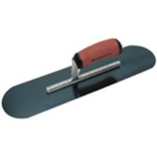 "MAR 13131 Marshalltown 20"" x 5"" Blue Steel Pool Trowel w/Soft Handle from C"