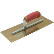 "MAR 13413 Marshalltown 14"" x 5"" Golden Stainless Steel Finishing Trowel w/S"
