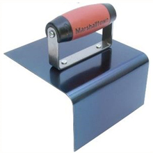 "MAR 14216 Marshalltown 6"" x 6"" x 3"" Nose Blue Steel 1/2"" Radius Step Tool f"