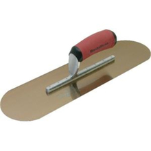 "Marshalltown 16"" x 4"" Golden Stainless Steel Pool Trowel w/Soft Handle from"