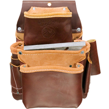 OCC 5060 Occidental 3 Pouch Pro Fastener Leather Bag from Carter-Waters