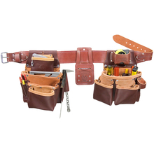 OCC 5089L Occidental Leather Seven-Bag Framer Tools Belt - Large from Carte