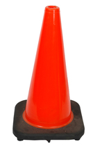 "Traffic Cone 18"" 18"" Traffic Cone w/Black Base from Carter-Waters"