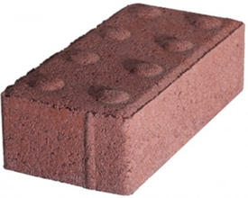 PAV HOLLAND ADA Holland River Red Paver w/Truncated Dome KDot from Carter-W