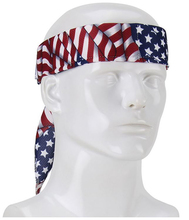 Buy EZ-Cool Evaporating Cooling Bandana Patriotic Flag from Carter-Waters