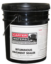 PVMT SEAL 42% 5GL 5 Gallon Asphalt Pavement Sealer  from Carter-Waters