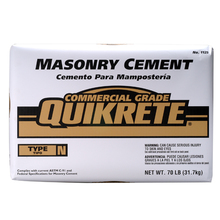 QUI 4125-69 Quikrete 70lb Bag Masonry Mix Cement Type N from Carter-Waters