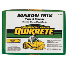 Quikrete 80lb Bag Mason Mix Type S from Carter-Waters