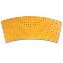ADA 248RADREPY 2 x 3 Yellow Radius ADA Replaceable Panel   from Carter-Wate