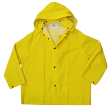 ABE 9222-Y XXXL Yellow 3XL Raincoat w/Hood from Carter-Waters