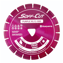 "Husqvarna Soff Cut Excel 1000 6"" Purple Diamond Blade from Ca"