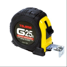 "TAJ G-25BW 1""x 25' Tape Measure w/G-lock  from Carter-Waters"