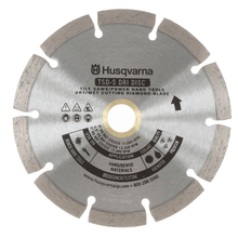 "Husqvarna 7"" TXSS Dri Disc Diamond Blade For Masonry Saws fro"