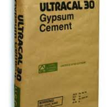 USG ULTRACAL30 USG Ultracal 30 Gypsum Cement 50lb Bag from Carter-Waters